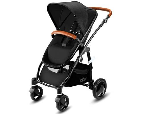 Коляска 2в1 CBX by Cybex Leotie Lux Smoky Anthracite