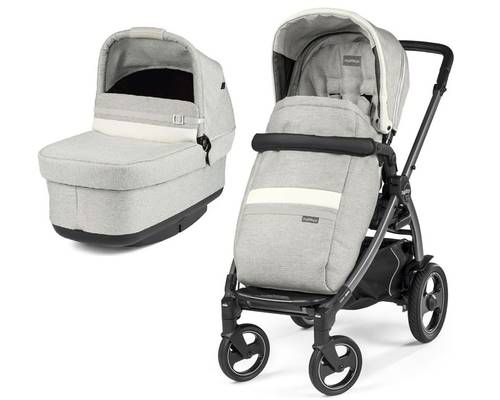 Коляска 2в1 Peg-Perego Book 51S Titania Pop Up Modular Lux Pure